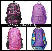 trendy bag packs