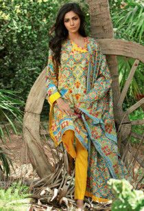 Pakistani Lawn UnStitched Dress