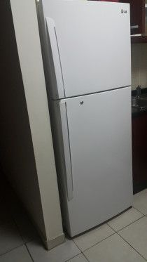 Fridge,TV,Washing machine and kitchen platform