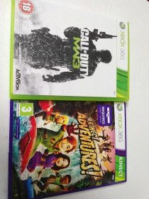 xbox360+kinect (with 2 games)