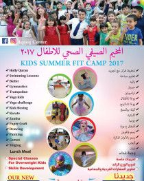 Summer fit camp for kids.