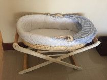 Mother care Moses basket and feeding pillow
