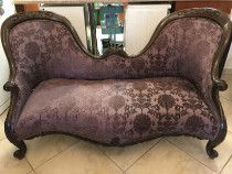 Antique style two seater sofa