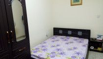 Furnished room available for executive bachelors  in Madinat Zayed area