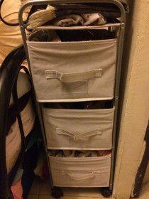 3-Level Storage shelf from Home Center