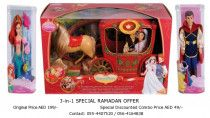 Disney 3 in 1 Doll set (Special Offer)