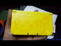 NEW NINTENDO 3DS XL (PIKACHU EDITION) + 2 GAMES + CASE