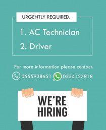Need AC Technician