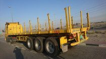 3 axle Flat bed trailer with 75 Tons capacity for Sale- 7 Trailers