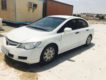 WHITE HONDA CIVIC CAR FOR SALE