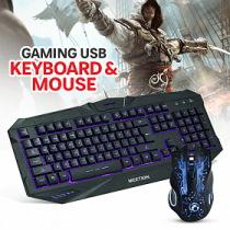 MeeTion combo set with backlit Gaming Keyboard & Mouse AED 110 Only