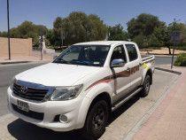 2014 Hilux Diesel For Sale !! LOW KM GCC SPECS