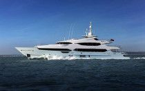Super Yacht Sunseeker BLUSH 155 Feet Yacht Model 2014 .