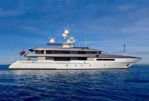 Super Yacht ALDABRA Codecasa 167 Feet Model 2011
