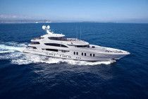 Super Motor Yacht Lady Sara 187 Feet TRINITY Model 2012.
