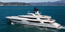 Baglietto 46 m Luxury Motor Super Yacht Model 2015