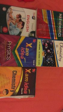 Grade 12 guides for physics,chemistry,mathematics
