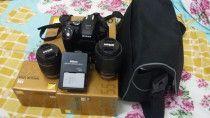 Nikon 5300 DSLR + Nikkor Lens 18-55 mm+ Nikkor 55-200 mm+Bag & Nikon Accessories