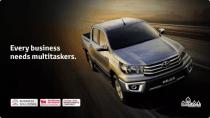 Toyota Hilux - Al Futtaim Offer for Business