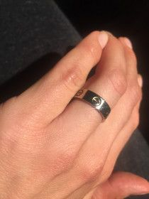 Cartier love band ring