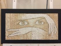 "LUXURY ART PRESENT MOSAIC ART "" THE DANCING GIRL"" By Saimir Strati"