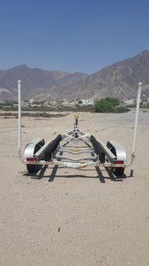 Rocket 2 Axle Boat Trailer