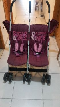 Cosatto Twin stroller made in the U.K and specially ordered from the U.K, heavy.