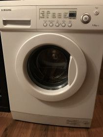 Going cheap: Samsung washing machine front loading