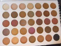Morphe 35 color shimmer and matte eye shadow palette