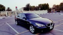 bmw 5 seriese 2007 full option low mileage in exelent condition for sale