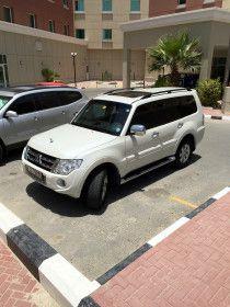 2012 Pearl White Mitsubishi Pajero in Excellent Condition