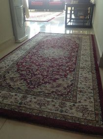 Beautiful middle eastern design carpets for sale.