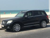 Mercedes 280GLK, 2009Model, Full Option GCC, Black/Beige Leather 42.000 Dhs