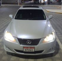 Lexus IS300 Model 2008 full option GCC Pearl White