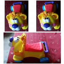 Baby Push Car and Toddlers Plastic Chairs
