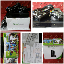 XBOX 360 500GB, rarely used * extended warranty