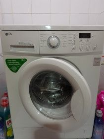 LG washing machine in perfect condition .