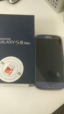 Samsung s3 dual sim - blue, with full box and accessories