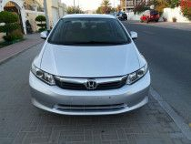 honda civic 2012 mid option, single owner use, very good condition, no accident