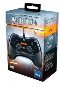 PlayStation 3 Wired Controller, Battlefield 4 Limited Edition for sale in Dubai
