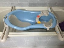 Baby bath matching any bathtube with seat