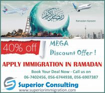 Great Discount Offer for Visa to Canada and Australia