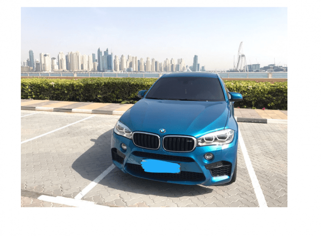 2016 BMW X6M available for Sale in Dubai