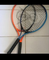 2 x Dunlop light weight tennis racket for sale