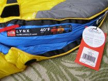 "Sleeping bag North Face ""LYNX"" perfect condition"