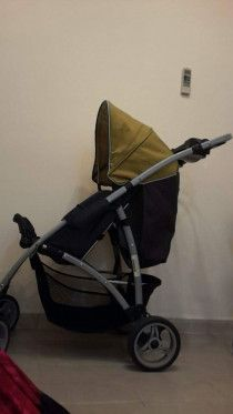 Junior brand baby stroller for sale in Sharjah in good condition whatsapp only
