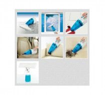 Cleanmaxx 3 in 1 Window Cleaner blue and white