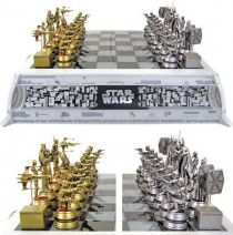 Star Wars Chess Set, very rare only 300 in the world made of pewter