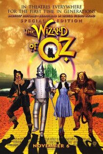 The wizard of Oz movie poster, a classic full size poster a must have
