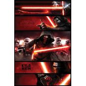 Star Wars Kylo Ren movie poster, size is 26 x 32 inches a must have poster